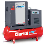 Clarke CXR50DR 5.5HP 200 Litre Industrial Screw Compressor With Dryer