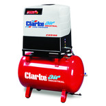 Clarke CXR100R 37.1cfm 270 Litre 10HP Industrial Screw Compressor (400V)