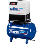 Clarke CXR100DR 37.1cfm 270 Litre 10HP Industrial Screw Compressor With Dryer (400V)