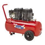 Clarke Shhh Air 100/50 3.53cfm 50Litre 0.9HP Quiet Run Compressor (230V)