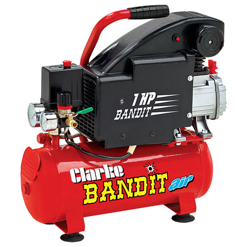 Clarke Bandit 4 Air Compressor 8 Litre Machine Mart