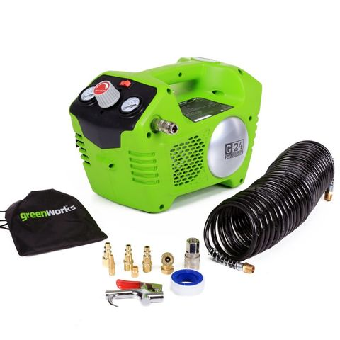 Image of Greenworks Greenworks GWG24AC 24V Air Compressor (Bare Unit)