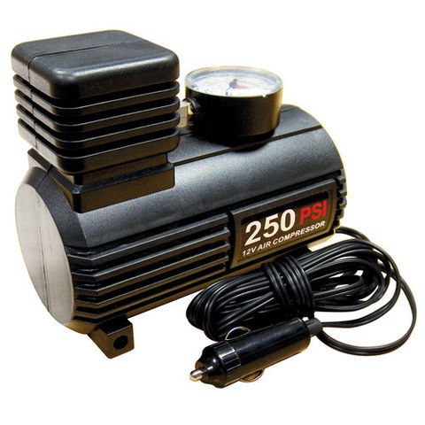 Image of Streetwize 12V Mini Tyre Inflator/Air Compressor