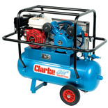 Clarke PPVH11ND Industrial Petrol Engine Air Compressor