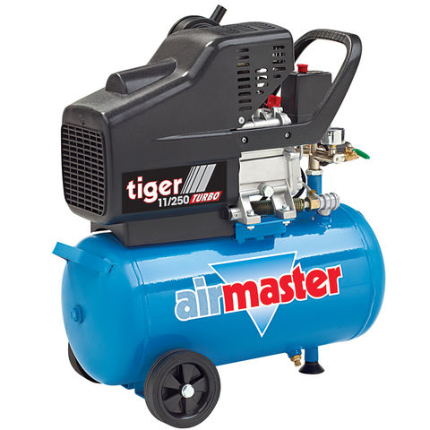 Image of Airmaster Airmaster Tiger 11/250 2.5hp 24 Litre Air Compressor