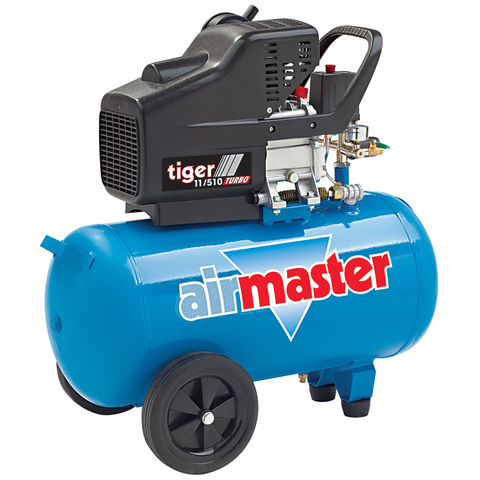 Image of Airmaster Airmaster Tiger 11/510 2.5HP 50 Litre Air Compressor