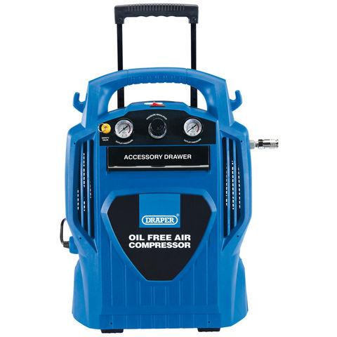 Image of Draper Draper DA6/181 6L Oil Free Air Compressor 1.2kW