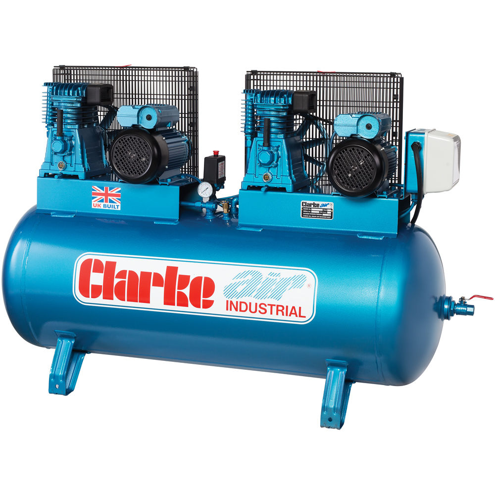 Clarke XE37/270 (O/L) Industrial Air Compressor (230V) - Machine ...