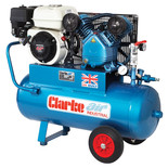 Clarke XPPVH11/50 Petrol Powered Industrial Air Compressor