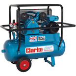 Clarke XEPVH11/50 Portable Heavy Duty Air Compressor (230V)