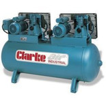 Clarke SE37C270ND 36cfm 270 Litre Industrial Air Compressor (OL)