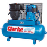 Clarke SD26KE150 150L Electric Start Diesel Stationary Air Compressor