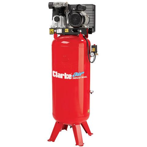 Image of 400Volt 3 Phase Clarke VE18C150 18cfm 150l Industrial Vertical Electric Air Compressor (400V)