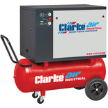 Clarke SSE15C100N 3HP 100L Low Noise Piston Air Compressor