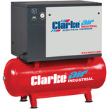 Clarke SSE25C270N 5.5HP 270L Low Noise Piston Air Compressor