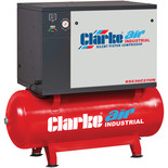Clarke SSE36C270N 7.5HP 270L Low Noise Piston Air Compressor (400V)