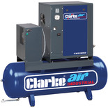 Clarke CXR3MRD 8.5cfm 200Litre 3HP Industrial Screw Compressor (230V)