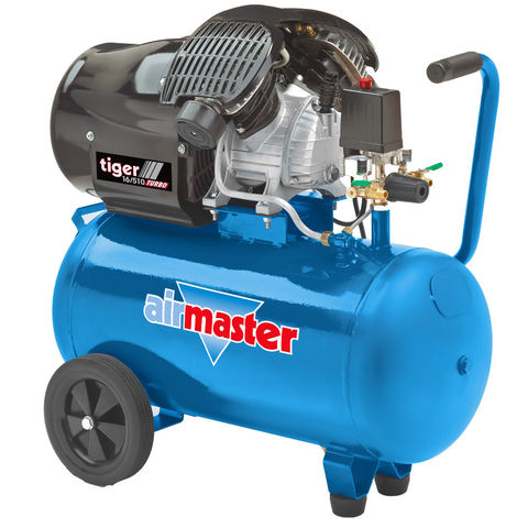Image of Airmaster Airmaster Tiger 16/510 3hp 50 Litre Air Compressor