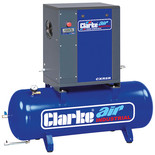 Clarke CXR5R 17.1cfm 200Litre 5.5HP Industrial Screw Compressor (400V)