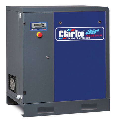 Image of 400Volt 3 Phase Clarke CXR30 106cfm 0Litre 30HP Industrial Screw Compressor (400V)