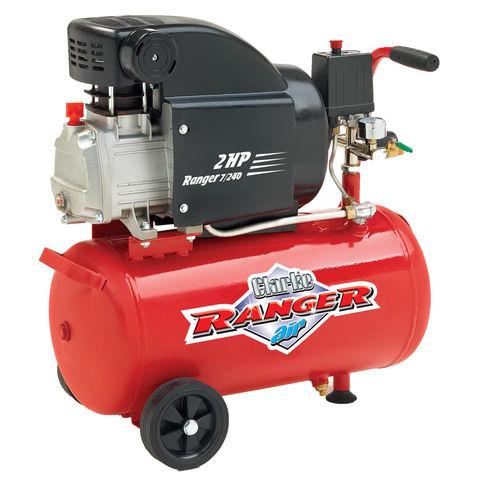 Image of Clarke Clarke Ranger 7/240 2hp 24 Litre Air Compressor