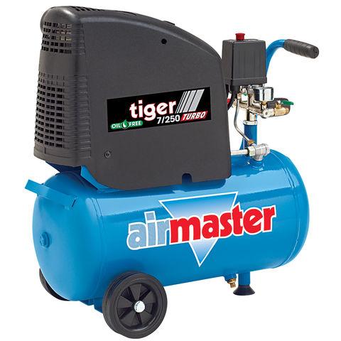 Airmaster Tiger 7/250 2HP 24 Litre Oil Free Air Compressor