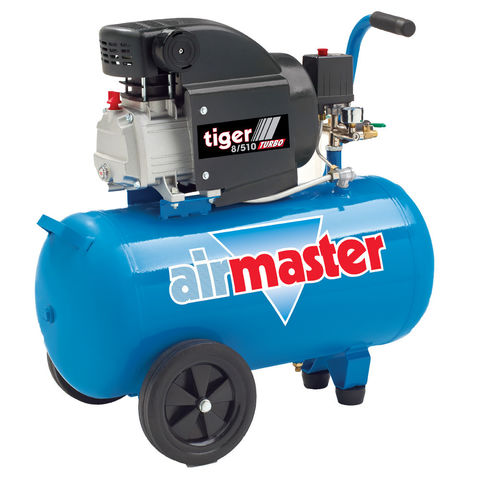 Image of Airmaster Airmaster Tiger 8/510 2hp 50 Litre Air Compressor