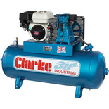 Clarke XP15/150 Petrol Driven Industrial Air Compressor