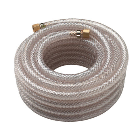 "Image of Clarke Clarke 10m Braided 8mm 1/4"" BSP Nut & Tail Air Hose"