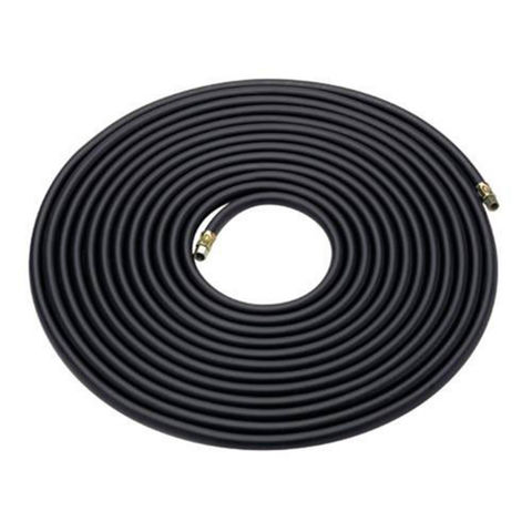 "Image of Clarke 15m Rubber Air Hose - 1/4"" BSP Fittings"