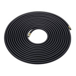 "15m Rubber Air Hose - 1/4"" BSP Fittings"