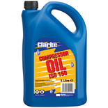 Clarke ISO 150 (SAE40) 5L Long Life Compressor Oil