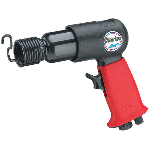 Image of Clarke Clarke CAT114 Air Hammer with Chisel Set