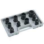 "Clarke CIS12/10 1/2"" drive Metric Impact Socket Set"
