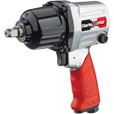 """Image of Clarke Clarke X-Pro CAT131 ½"""" Twin Hammer Air Impact Wrench"""
