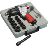 "Clarke X-Pro CAT132 13pc ½"" Twin Hammer Air Impact Wrench Kit"