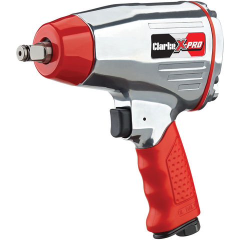 "Image of Clarke Clarke X-Pro CAT141 ½"" Twin Hammer, Compact Air Impact Wrench"