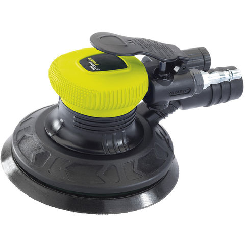 Image of Machine Mart Xtra Draper SFAS150 Storm Force Composite 150mm Dual Action Air Sander