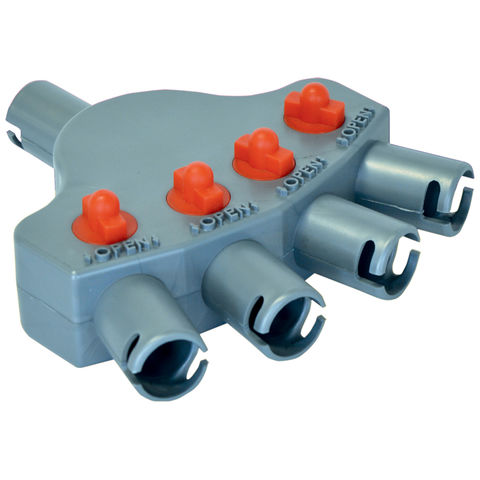 Image of Streetwize Streetwize LWACC399 Quattro Valve includes hose and adaptors