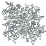 Pk100 Pop Rivets 4mm x 6.4mm