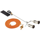 Clarke PLK1074 700mm Twin Burner Gas Torch Kit