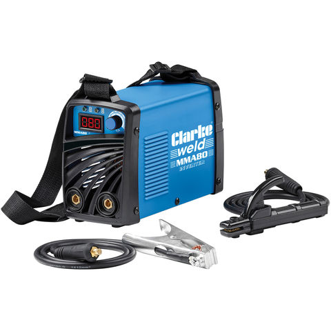 Image of Clarke Clarke MMA80 ARC/MMA Inverter Welder (230V)