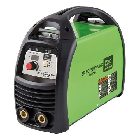 Image of SIP SIP HG1600DV Dual Voltage 230V / 110V ARC Inverter Welder