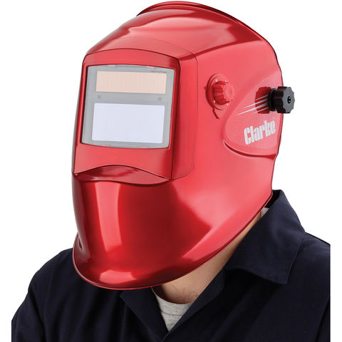 Photo of Clarke clarke gwh2 red arc activated welding/grinding headshield