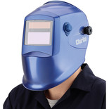Clarke GWH3 Blue Grinding/Arc Activated Solar Powered Welding Headshield