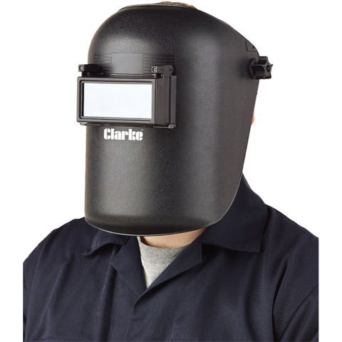 Photo of New clarke hsf1 fixed shade welding headshield