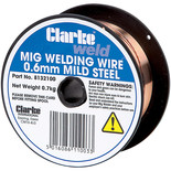 Clarke Mild Steel Welding Wire 0.6mm 0.8kg