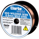 Clarke Mild Steel Welding Wire 0.8mm 0.8kg