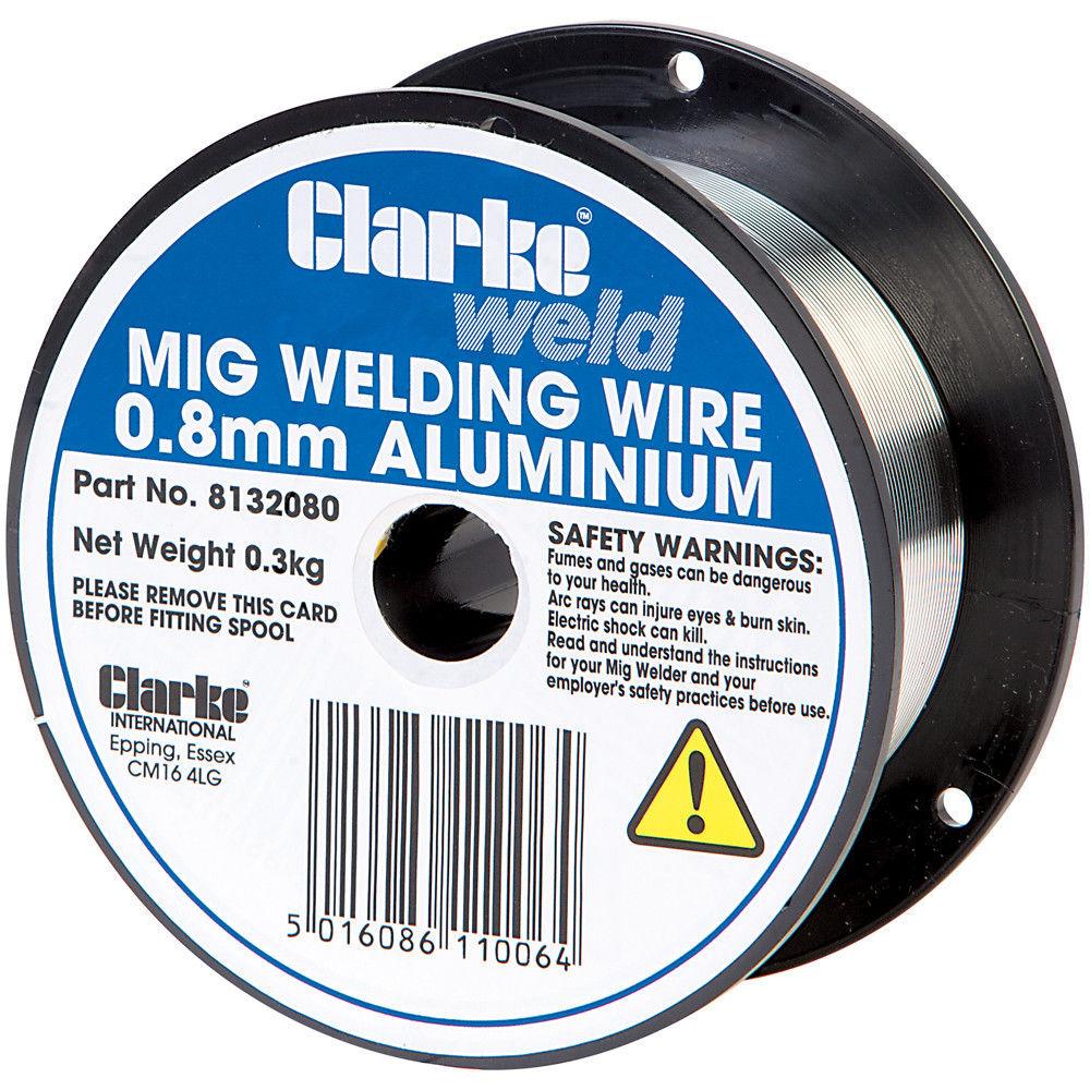 Clarke Aluminium Welding Wire 0.8mm 0.3kg - Machine Mart - Machine Mart