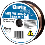 Clarke Mild Steel Welding Wire 0.6mm 15kg